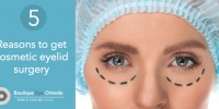 Top 5 reasons why people get cosmetic eyelid surgery and blepharoplasty by Dr. Brian Haas