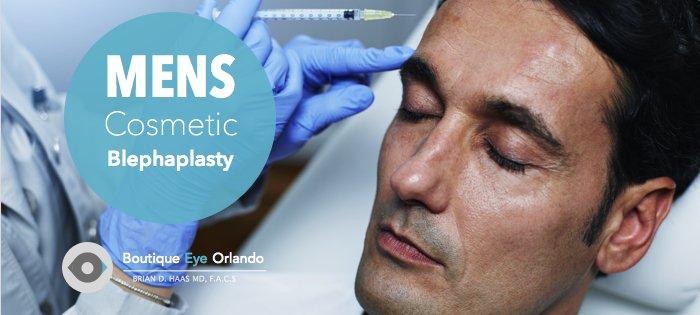Orlando Blephaplasty Eyelid surgery for men