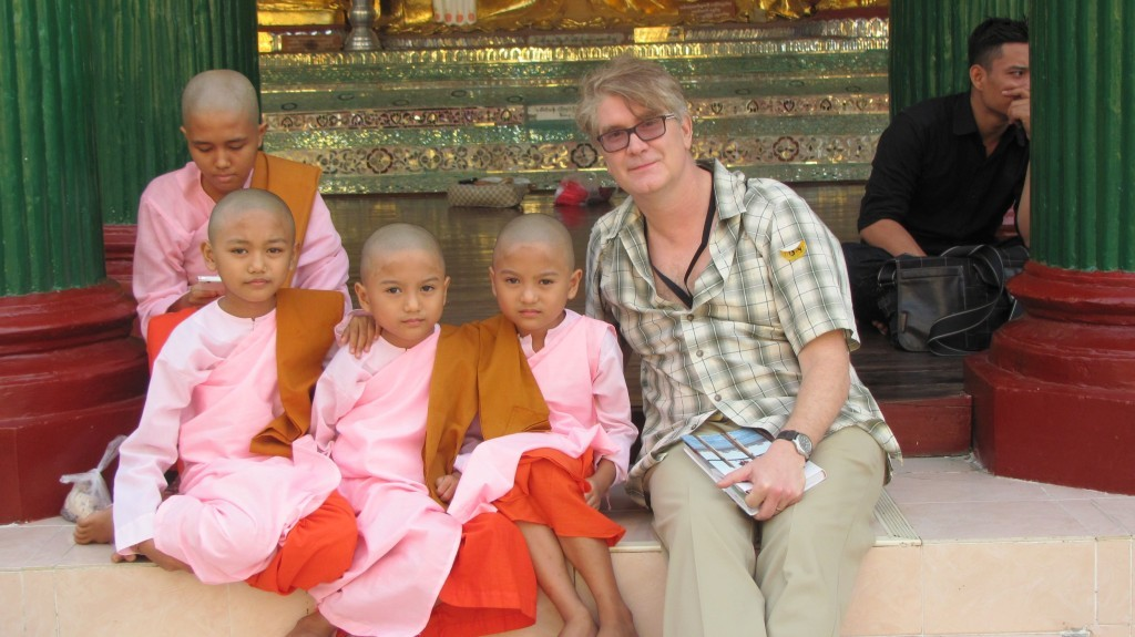 Dr. Haas working in Burma