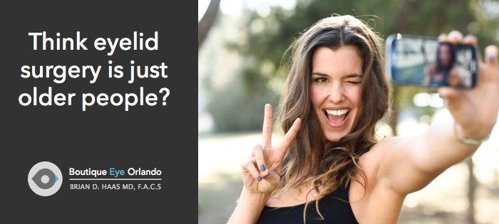 orlando eyelid surgery for young people