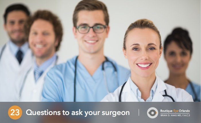 Orlando Cosmetic Eyelid Surgery Questions