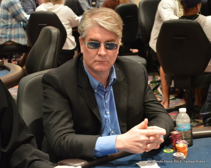 Dr. Brian Haas playing poker