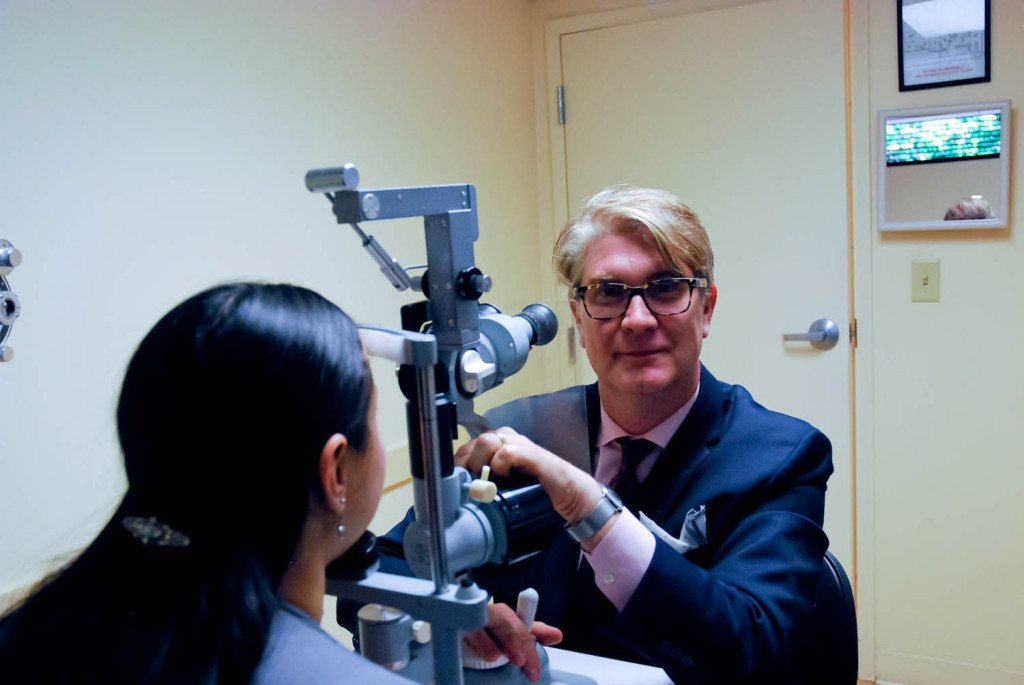 Dr. Brian Haas Orlando Eye Doctor and eye exam